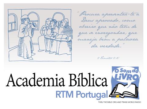 Logo da Academia Bíblica da RTM de Portugal