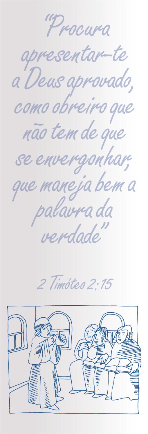 Versículo de Segunda Timóteo 2.15